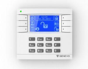 manipulator klawiatura GENEVO PRiMA LCD WH-BL BLUE