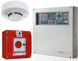 centrala alarmowa czujniki pożarowe alarmowe System Sygnalizacji Pożaru SSP montaz instalacja
